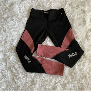 Victoria Secret Pink Yoga Large Leggings